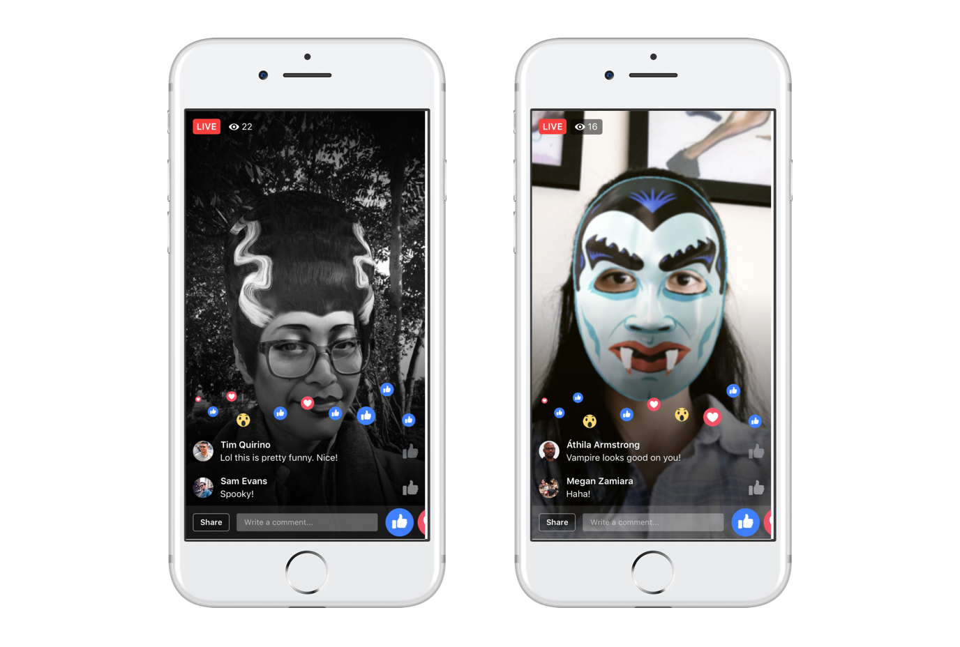 Facebook now also has a cute little mini-game within the camera app in  which users have to jump to try to escape a haunted house. There's a fun  twist to the ...