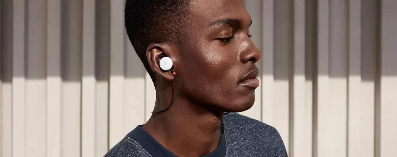 [Update: Bluetooth 4.2, AAC] Google Pixel Buds charge over USB-C, can use Assistant and do real-time translation for $159