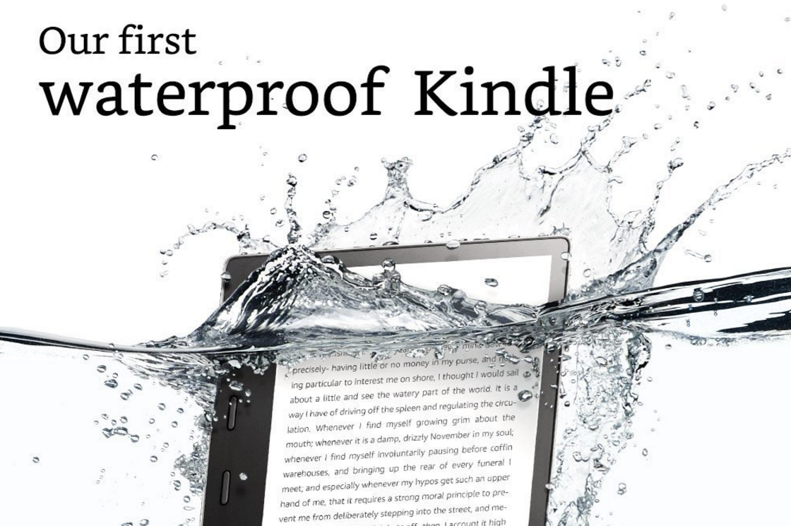 Kindles oasis is its first waterproof ebook reader with a larger 7 the holidays are fast approaching and amazon seems to be announcing one new product or service every day so its hard to keep up the latest however is a fandeluxe Image collections