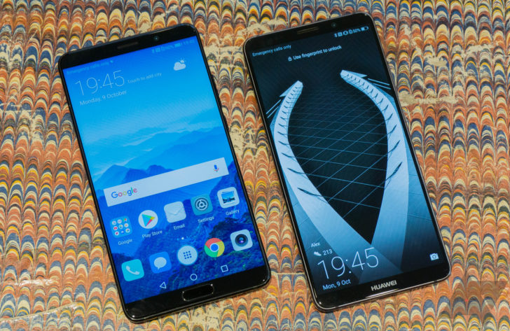 Hands-on with the Huawei Mate 10 and Mate 10 Pro: Plugged into the smartphone zeitgeist