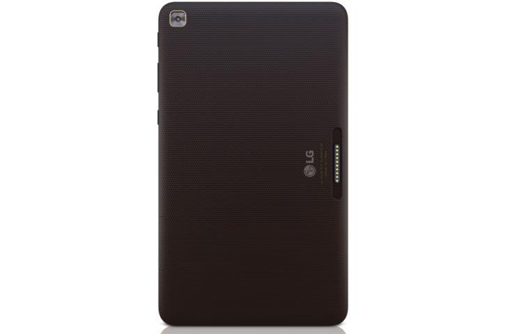 Rear of LG G Pad F2 8.0