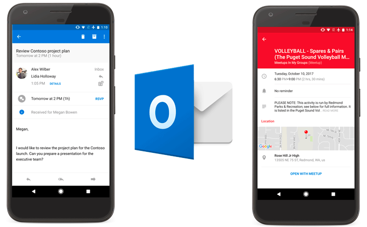Outlook for iOS and Android updated with more calendar goodness