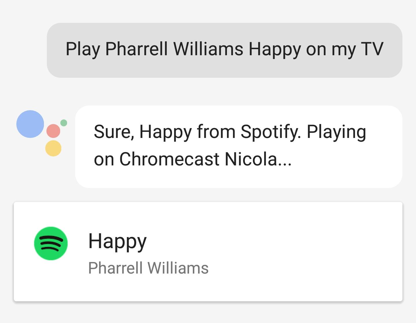 Praise Slow Google] It's now possible to control Chromecast