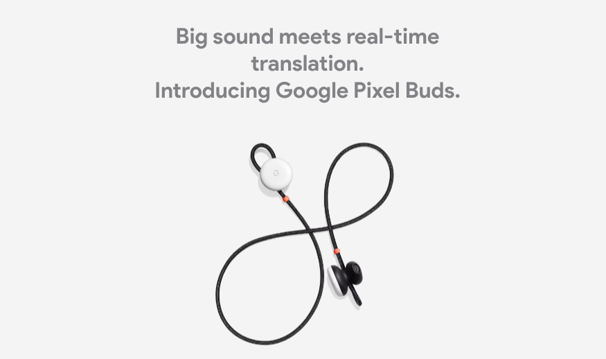Pixel Buds are primed to receive 'Hey Google' hotword detection