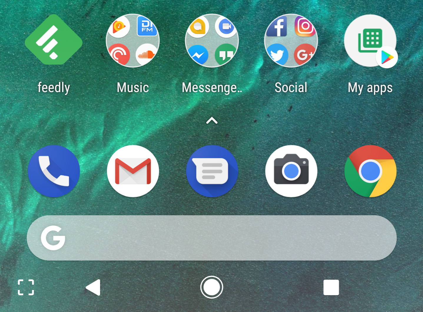 Hands-on with the updated Pixel Launcher, including the new Pixel 2