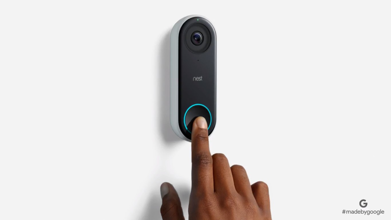 Google assistant can tell you whos at the door with nest hello and last month googles sister company nest revealed a smart doorbell the nest hello it has a built in camera with ir illumination and is able to detect stopboris Choice Image