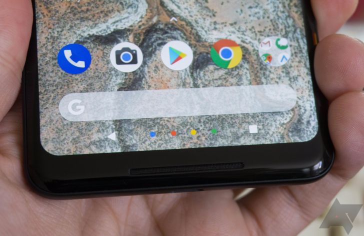 Another Pixel 2 XL problem, this one with touch panel edge response