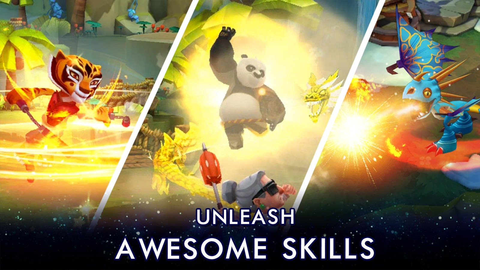 DreamWorks Universe of Legends is yet another lazy hero
