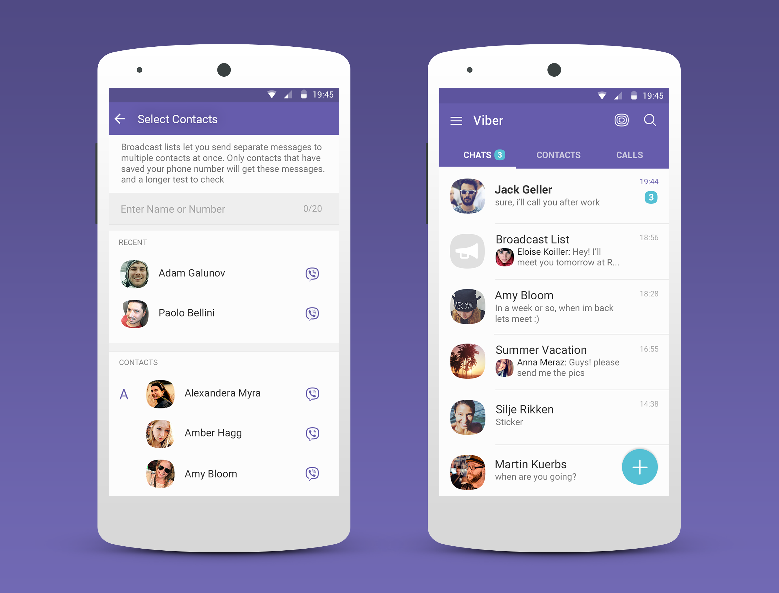 Viber adds pinned messages and replies in groups, plus broadcast