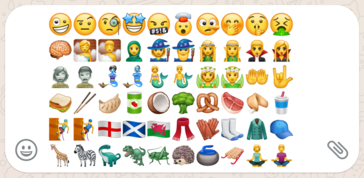 Whatsapp Beta 2 17 397 Adds New Emojis For Fantasy Facial
