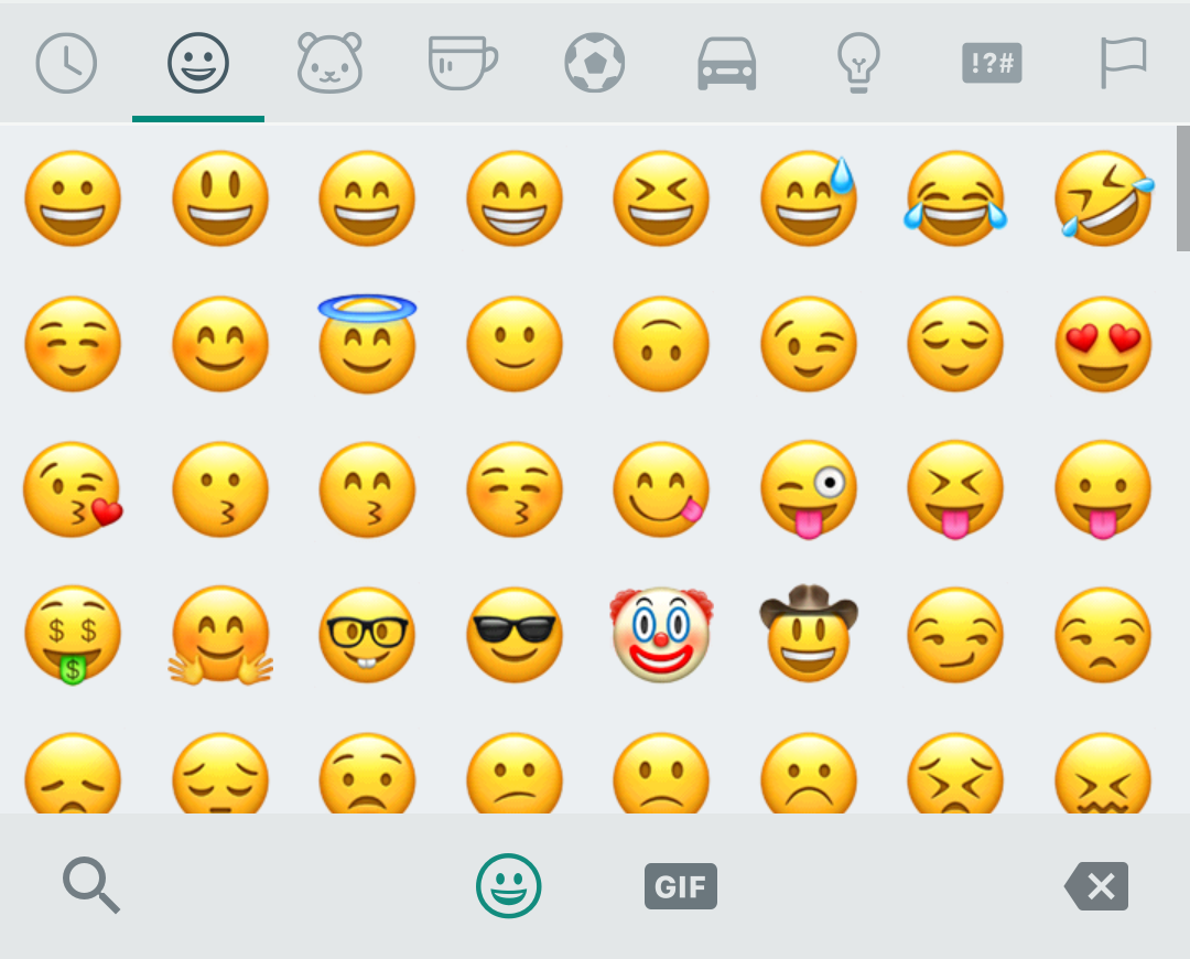 WhatsApp rips iPhone emojis to create their own set