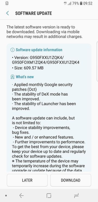 Second Android 8 0 Oreo beta is now rolling out to the Samsung