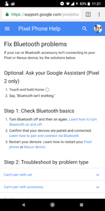 Google Assistant is able to troubleshoot problems on your