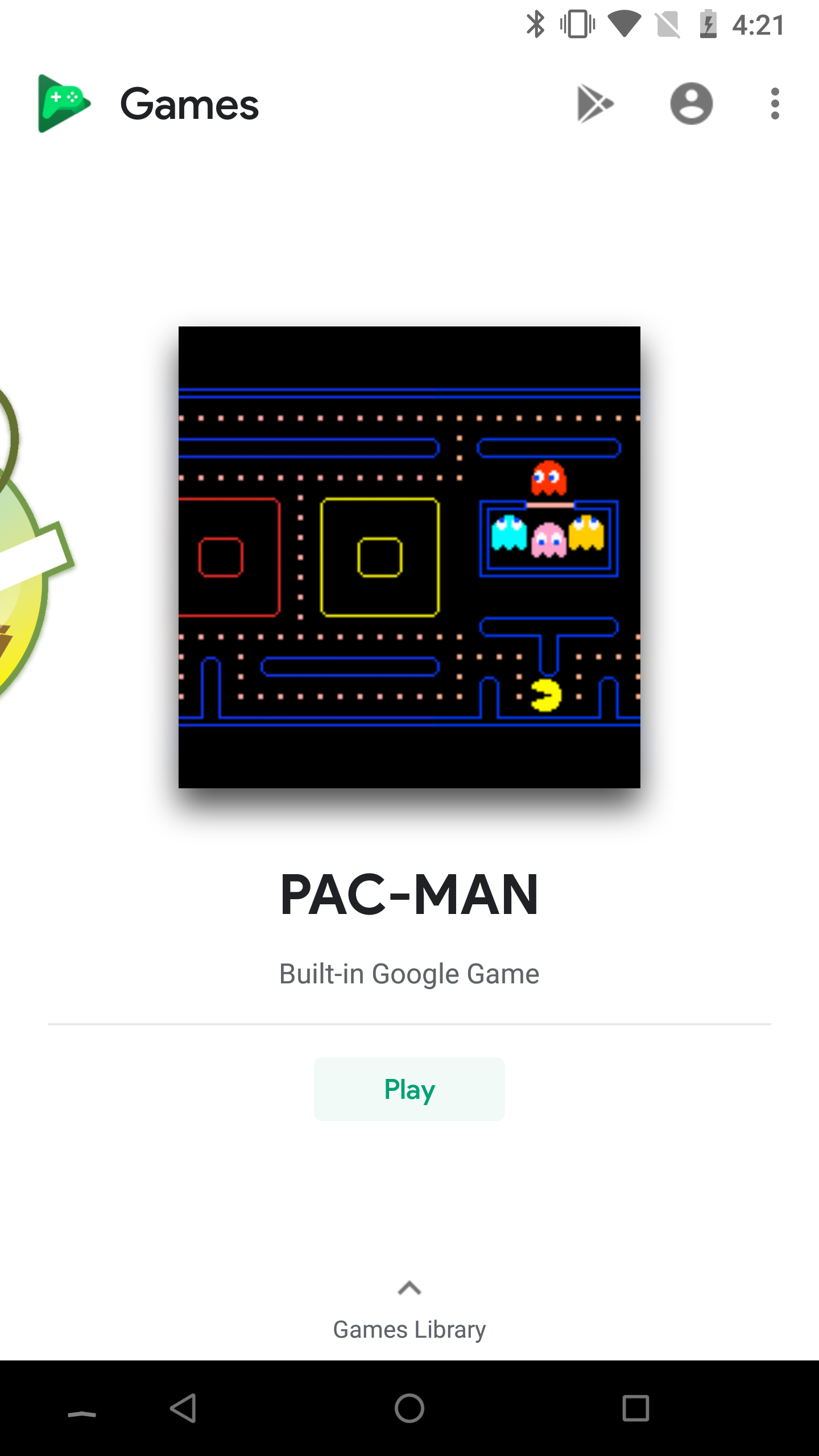 three mini games are included in this update solitaire cricket and pac man each is a convenient way to waste time if you dont have any other games