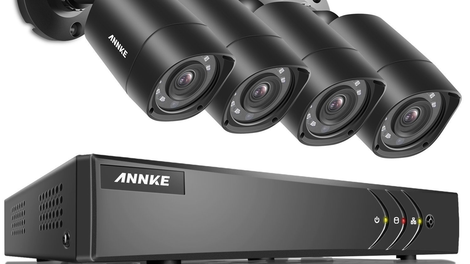 Sponsored Deal Annke 8 Channel Security Camera System W 4 Weatherproof Night Vision Cameras Is 78 09