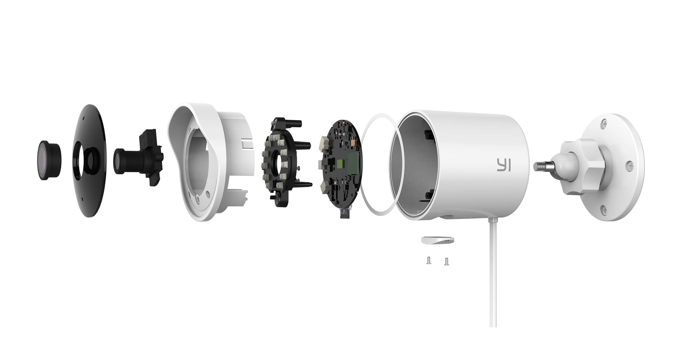 Yi announces a 1080p outdoor security camera for $99 99