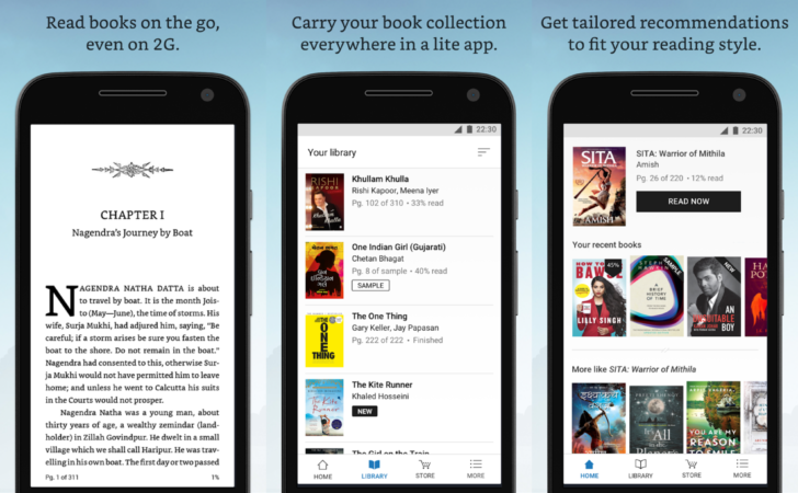 how to read kindle books offline on android