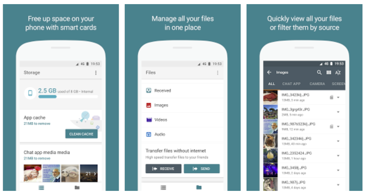 Update: Open beta] Google Files Go is an unreleased smart
