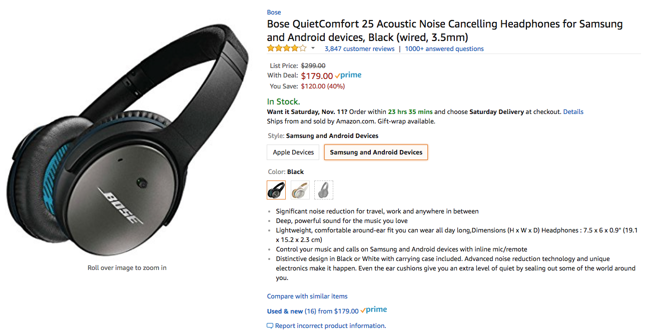 101 Best Android Apps Bose Quietcomfort Qc25 Headphone For Apple Devices White Boses Beloved 35 May Already Have A Successor The Ii But Company Has Still Been Selling Wired Quite Some