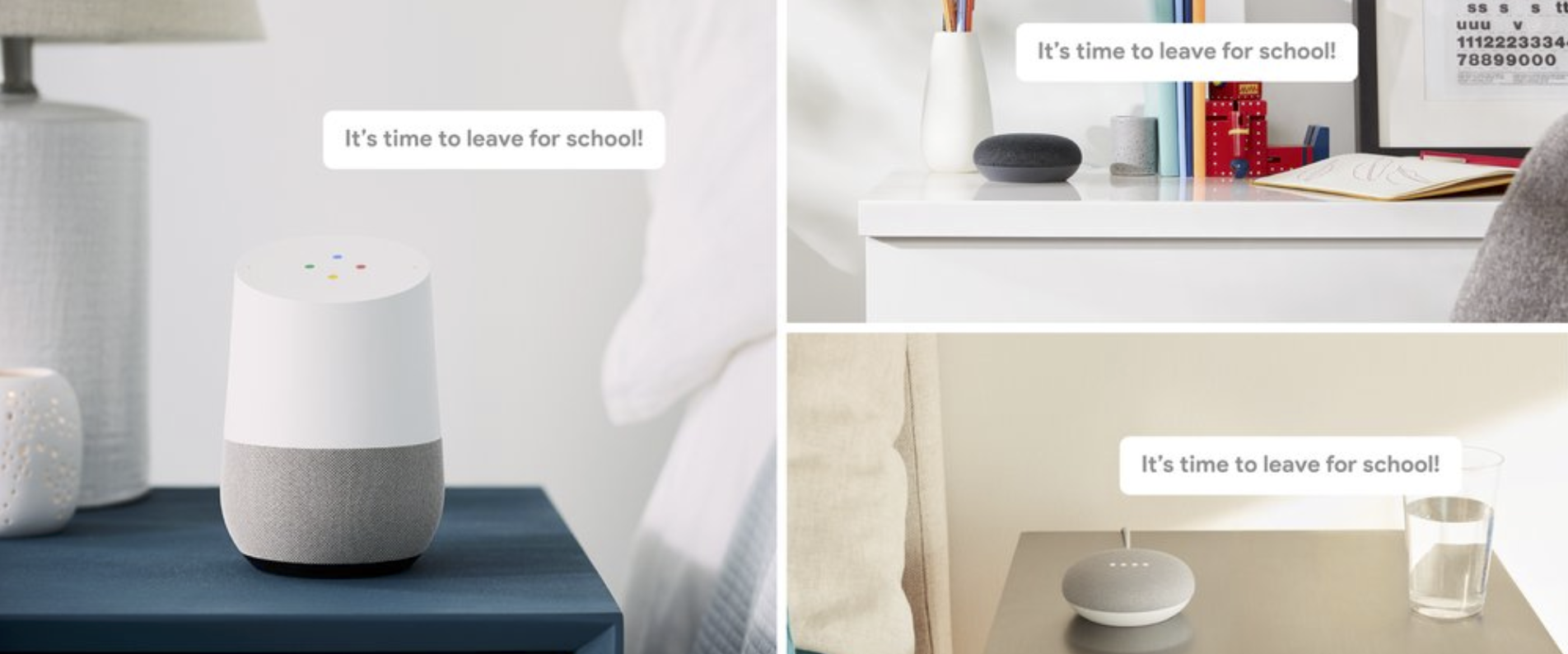 Broadcast for Google Home is rolling out now, allowing you to talk to everyone in the house
