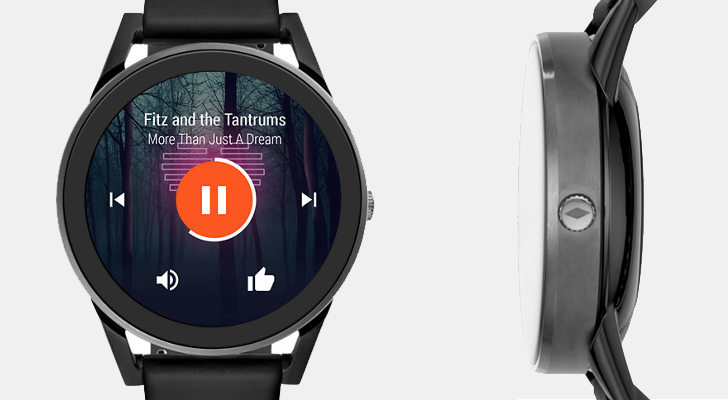 Fossil Q Control is a waterproof smartwatch with a heart rate monitor