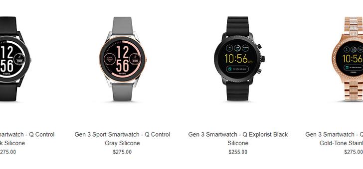 [Update: Gen 3 as low as $151] Deal alert: Fossil Q Gen 3 smartwatches are 30% off ($178+), Gen 2 watches 50% off ($137)