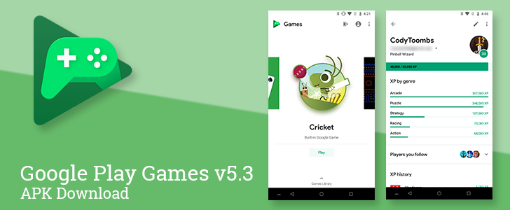 Play Games v5 3 comes with a whole new look and three new mini-games