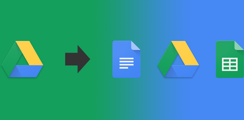 IFTTT splits Google Drive service into Docs, Sheets, and Drive