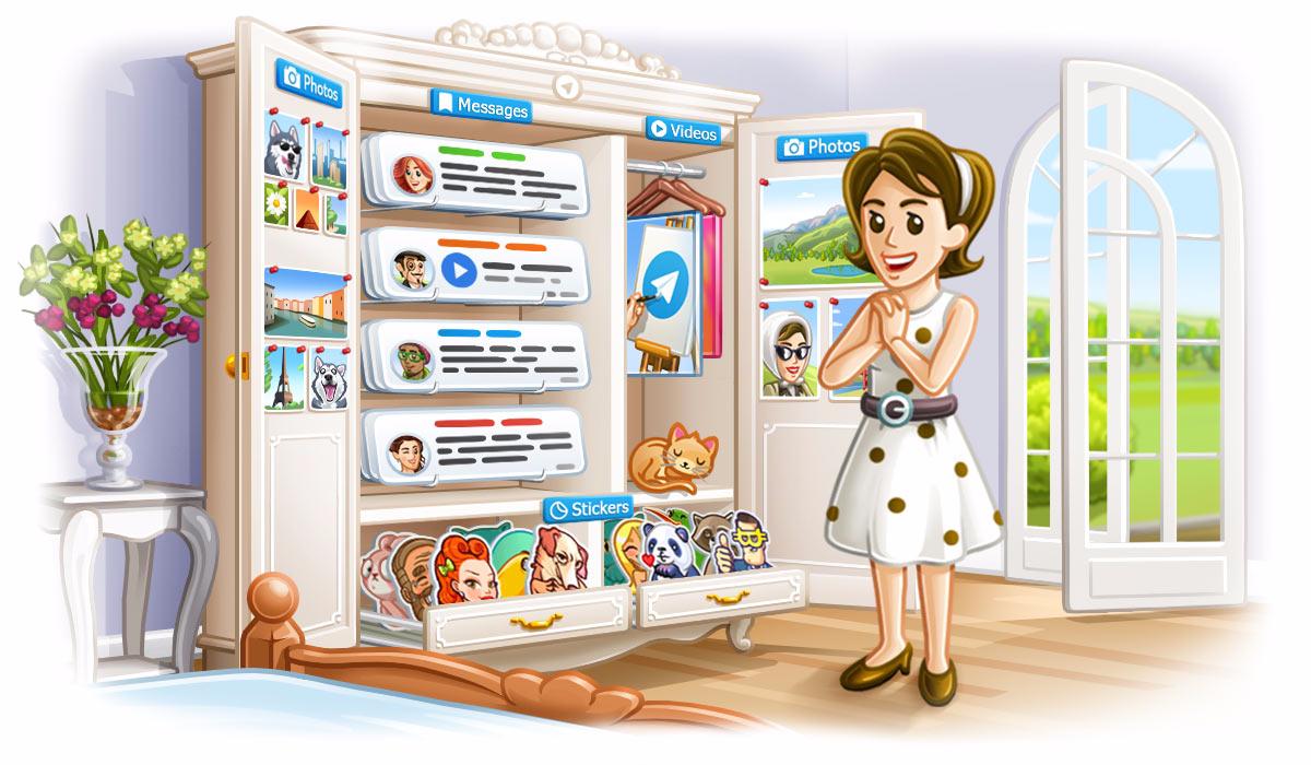 Telegram desktop app updated with new background feature mspoweruser.