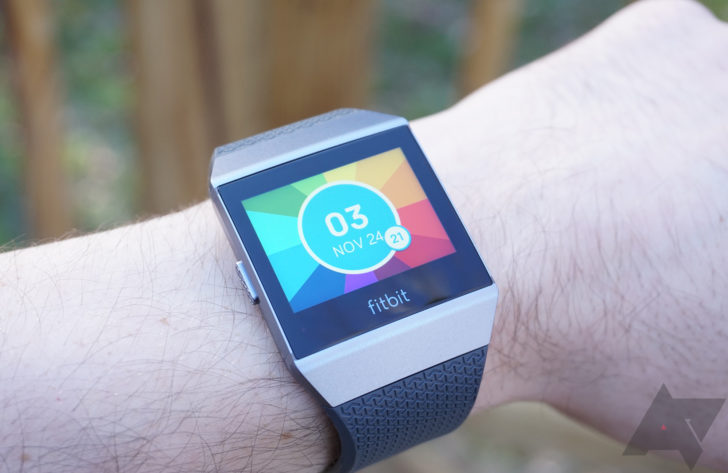 The Fitbit Ionic's first major update adds new apps and watchfaces