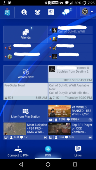 how to download application update on play station