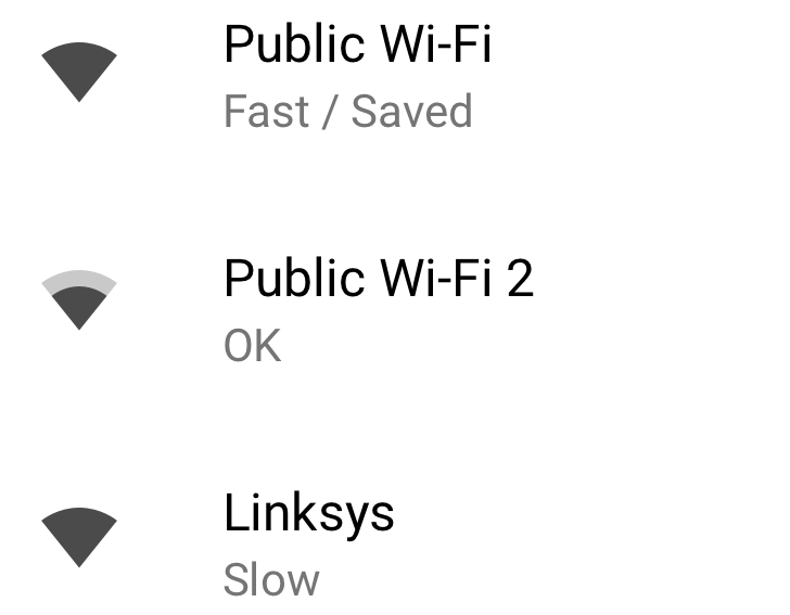 [Update: Rolling out now] Android 8.1 feature spotlight: Speed labels for open Wi-Fi networks are now displayed in settings