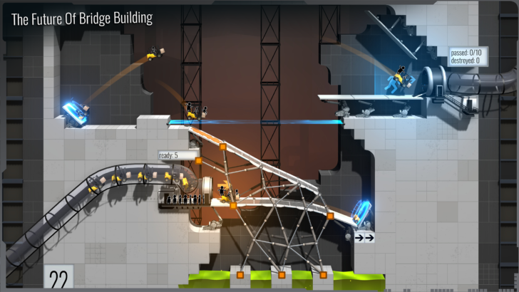 It's hard to overstate my satisfaction—Bridge Constructor Portal is now available in the Play Store