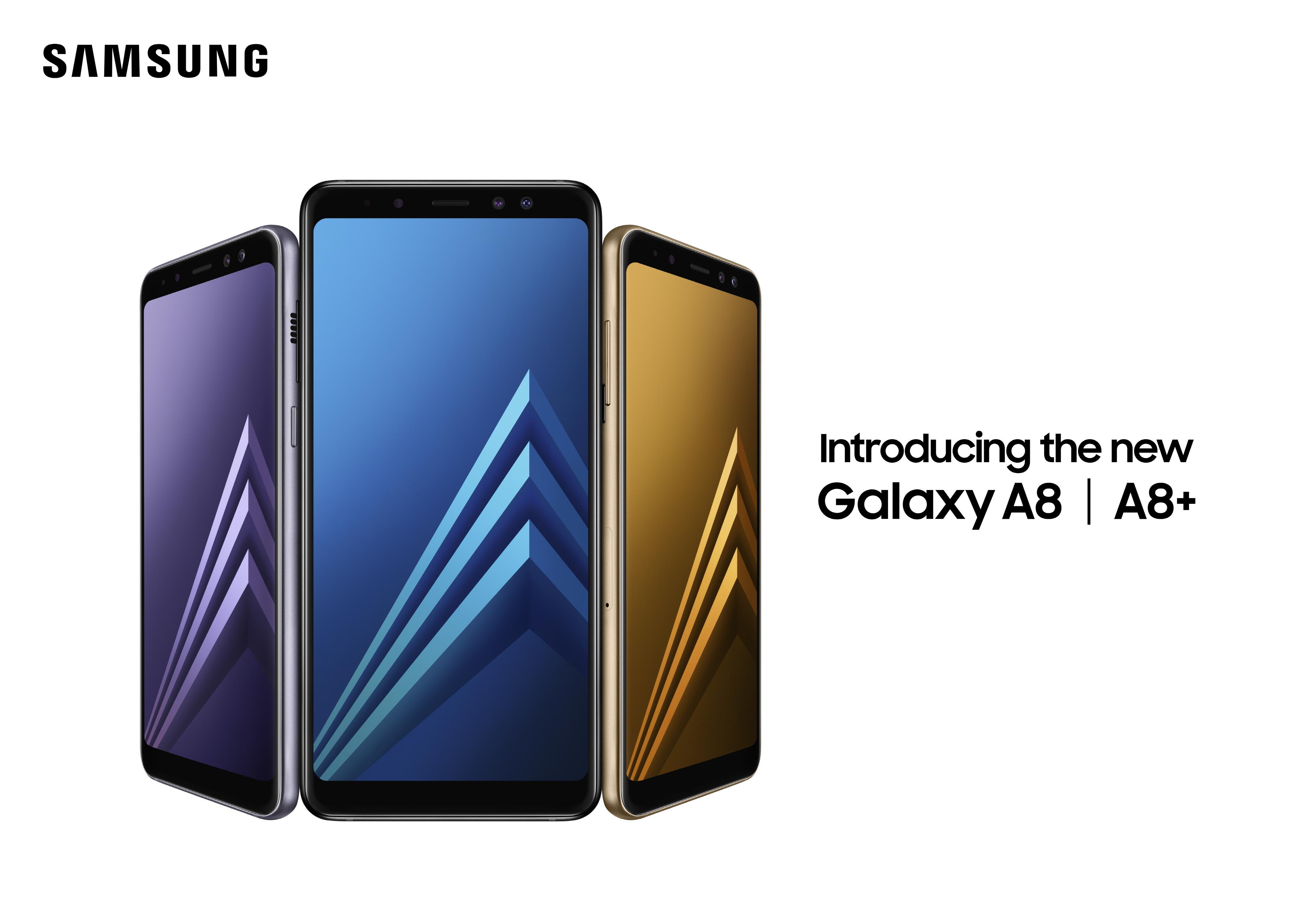 66dc318b091 Samsung announces dual-camera wielding midrange Galaxy A8 (2018) and ...