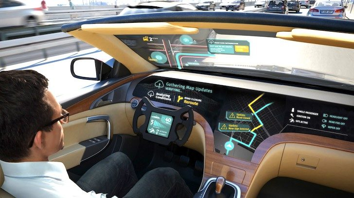 Navigation From Telematics >> LG partners with former Nokia property HERE for autonomous vehicle information systems