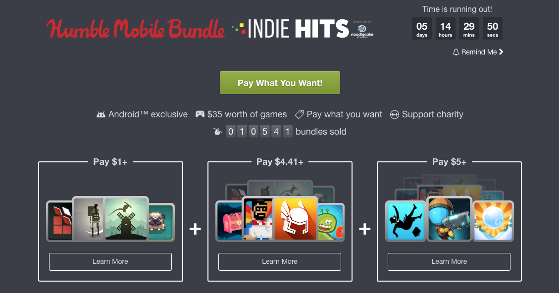 Humble Bundle Update: [Update: Winners] Win One Of 10 Free Codes For The Humble