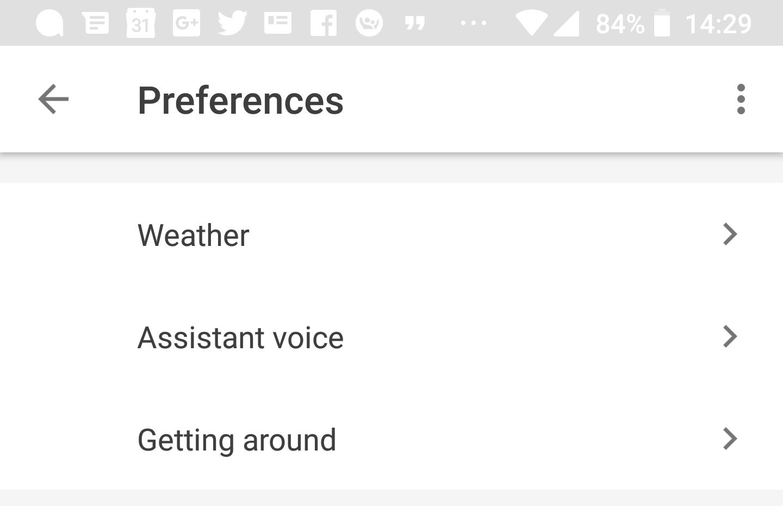 google/preferences