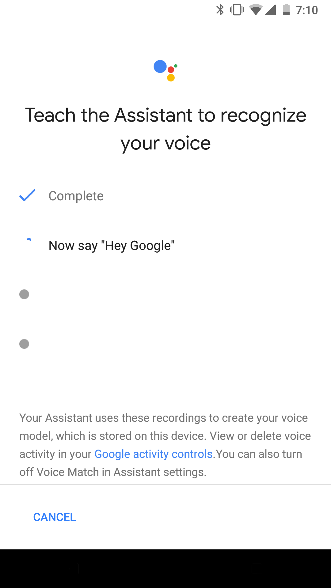 Hey google hotword for phones rolling out to more users once you re setup the voice model you can also do it from settings google search voice you can use either ok google or hey google to open kristyandbryce Image collections
