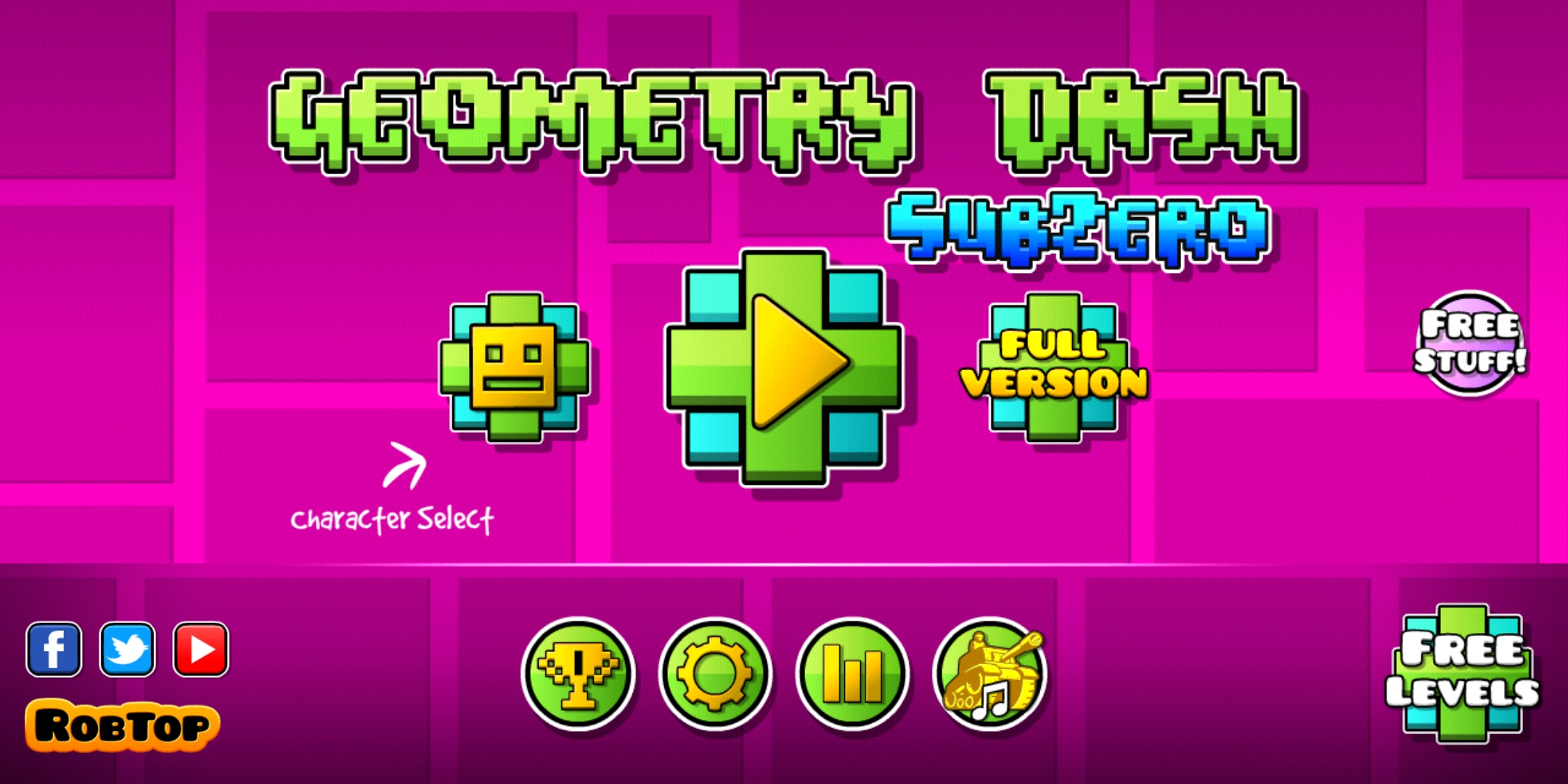 Geometry Dash Subzero Is The Latest Stand Alone Expansion For Robtop Games Geometry Dash Series