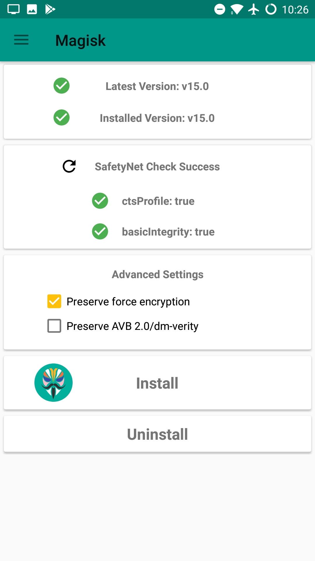 Magisk v15 1 released to stable, fixes v15 bootloop for some