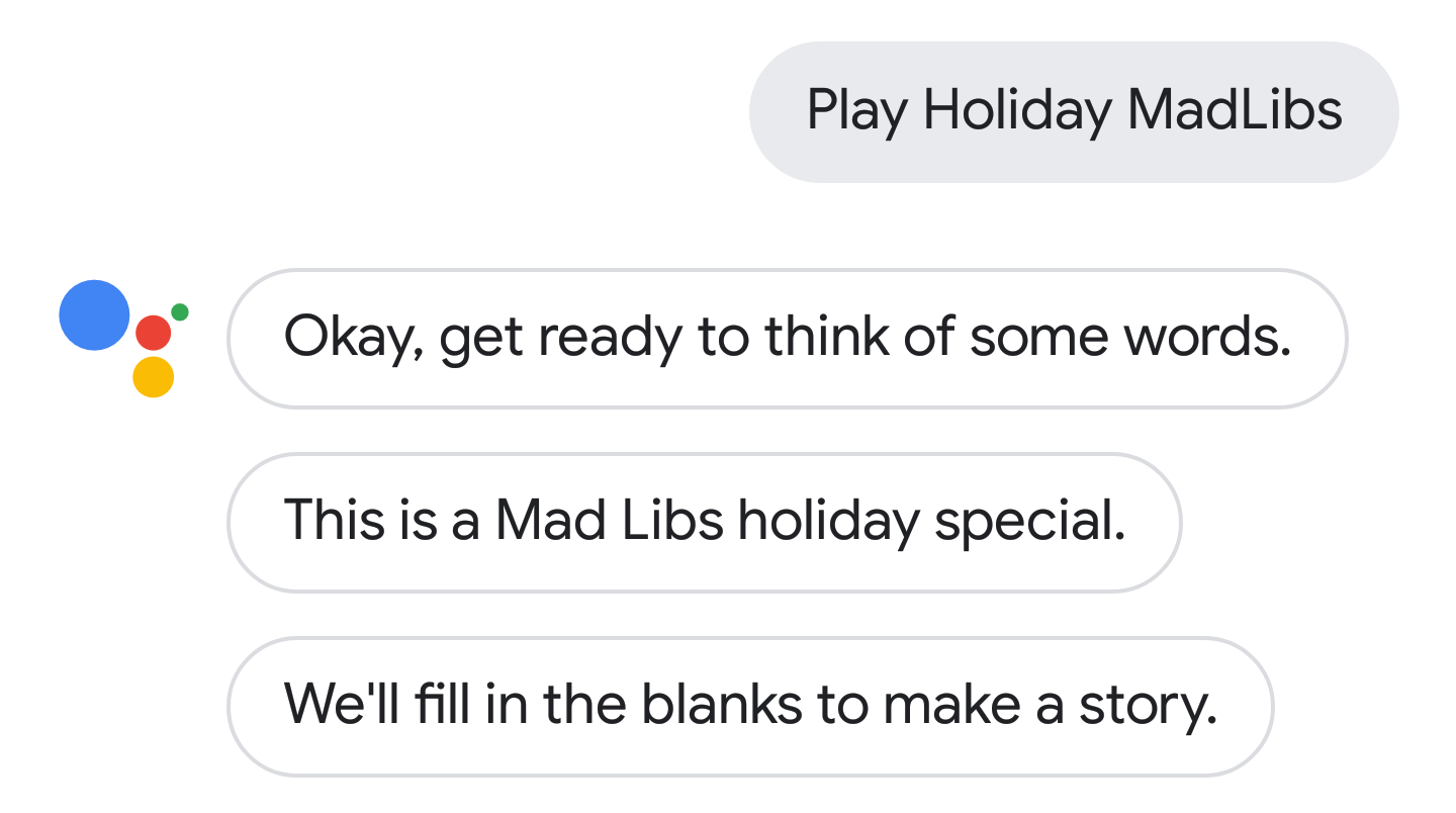 photograph regarding Christmas Mad Libs Printable known as Google House and Assistant nevertheless comprise some enjoyment Xmas