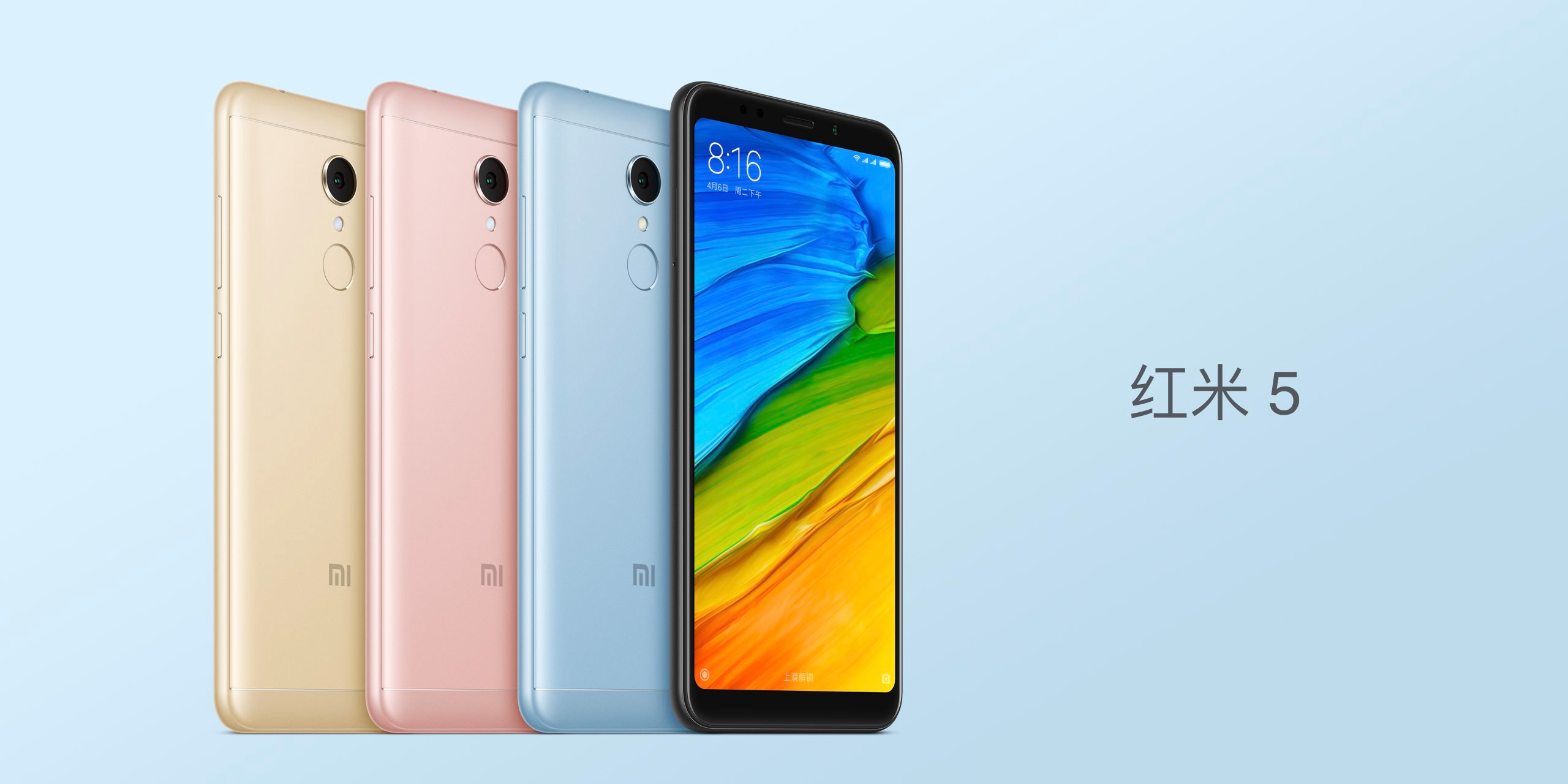 Xiaomi Redmi 5 and 5 Plus come with 18:9 displays, big ...