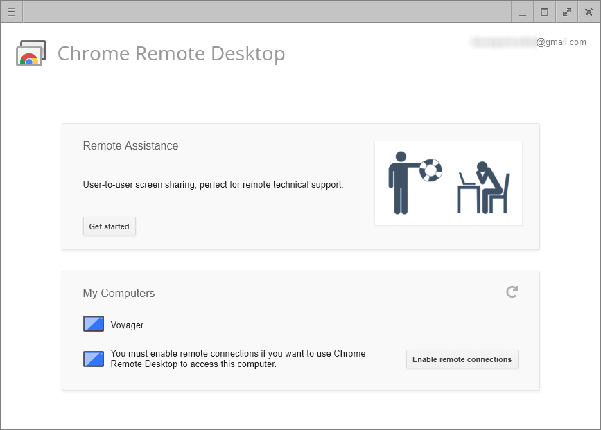 Google releases web app version of Chrome Remote Desktop