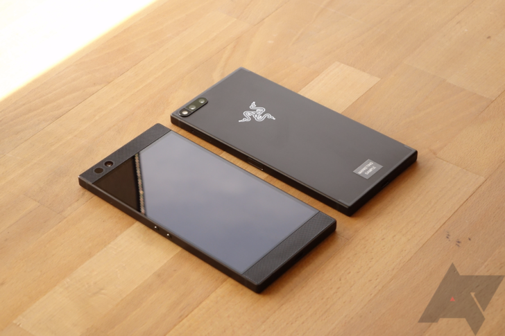 The Razer Phone will be updated to Android 8.1 in April