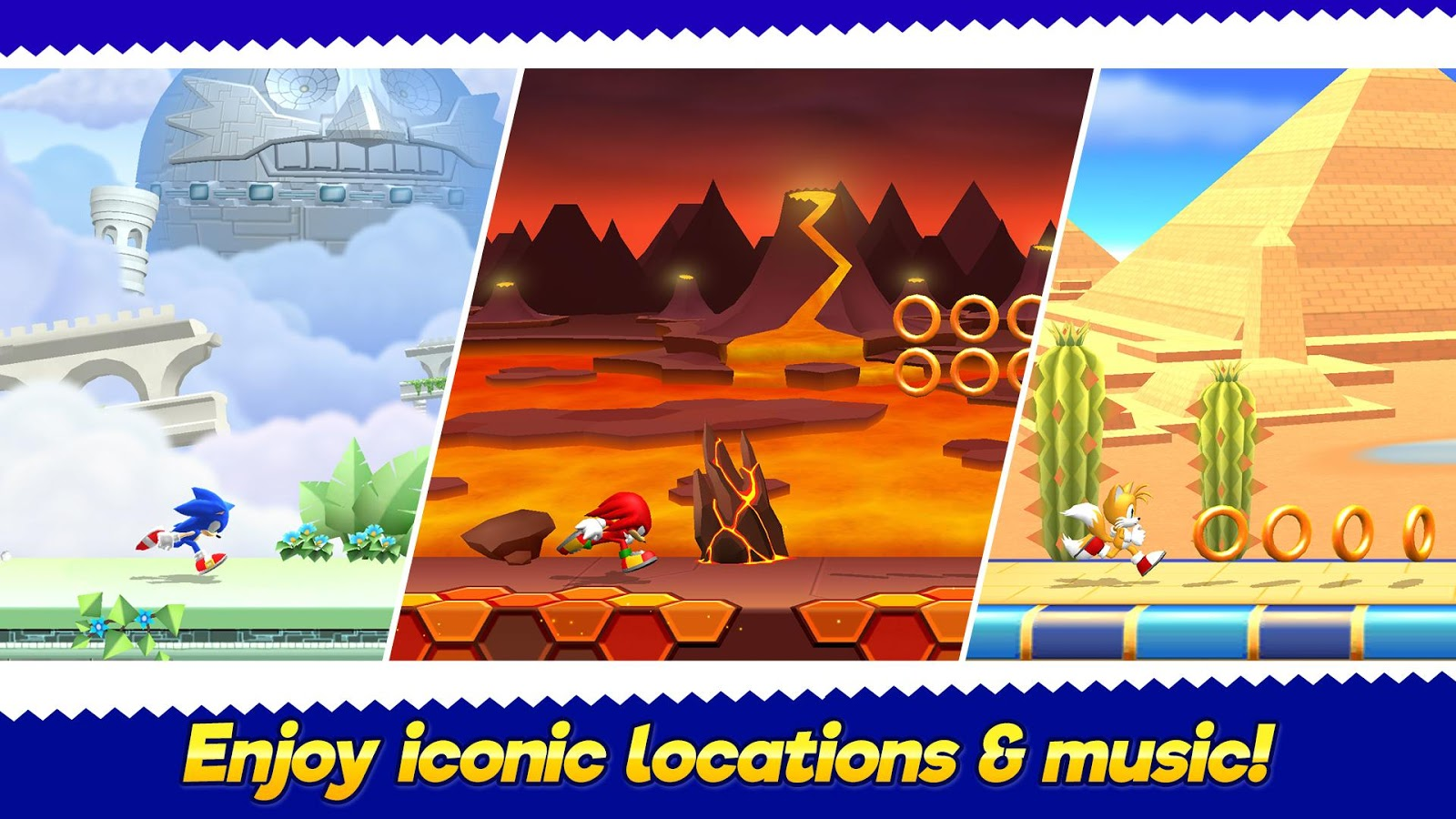 Sonic Runners Adventure Is Out But It S By Gameloft And Not Sega