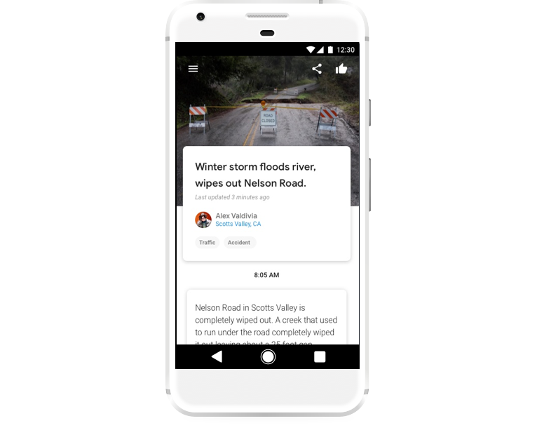 Google Testing New Crowdsourced 'Hyperlocal' News App, Bulletin