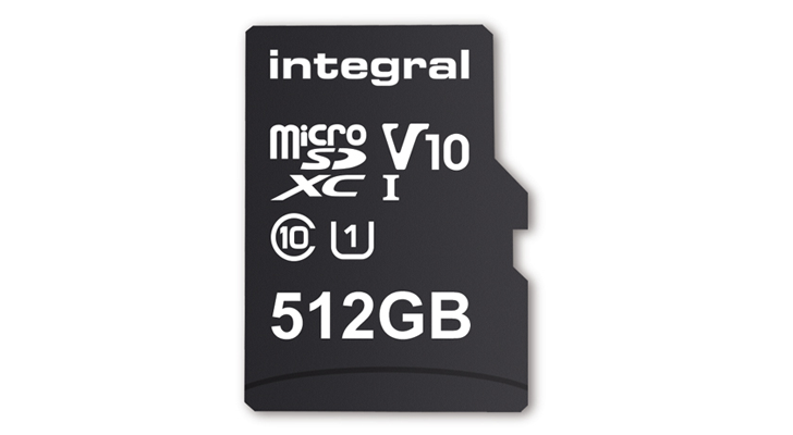 Integral Memory will release a 512GB microSD card in February