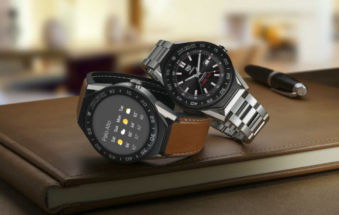 TAG Heuer unveiled the TAG Heuer Connected Module 41