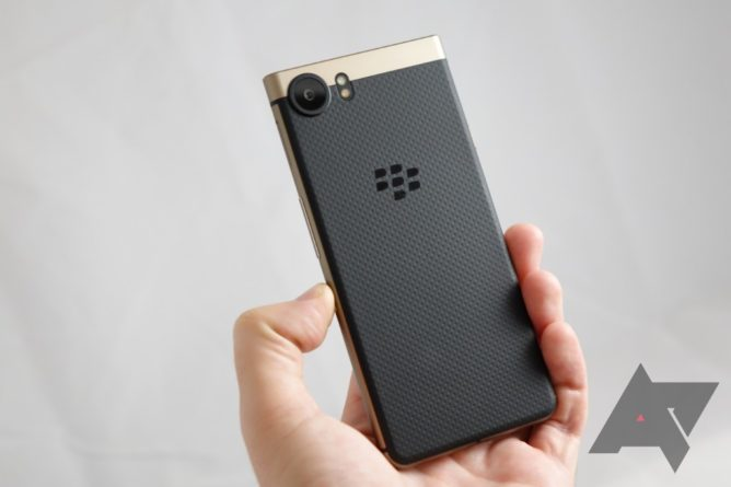 BlackBerry KeyOne Bronze Edition Smartphone Launched