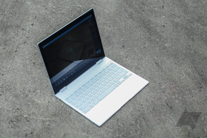 I used the Google Pixelbook as my only laptop at CES - and it completely converted me